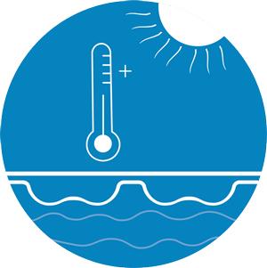 chauffage de l'eau piscine