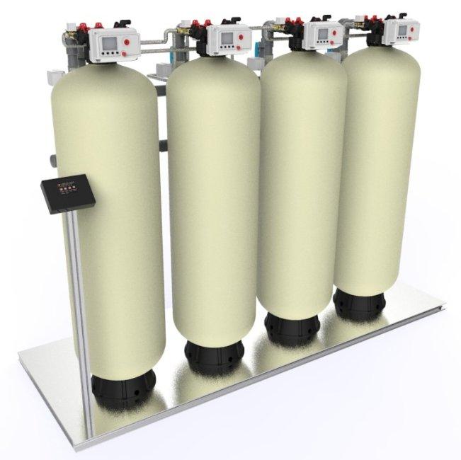 Filtres duplex automatiques